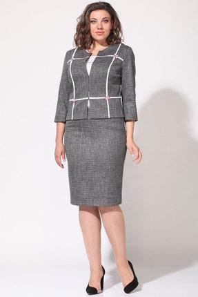Комплект юбочный Lady Style Classic 1401/1 серый