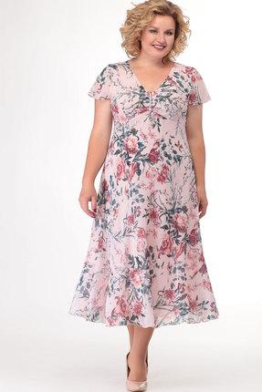 Платье СлавияЭлит 428 пудра