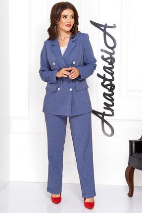 Комплект брючный Anastasia 476 синий