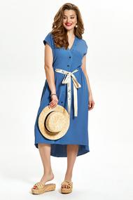 Платье TEZA 1491 синий