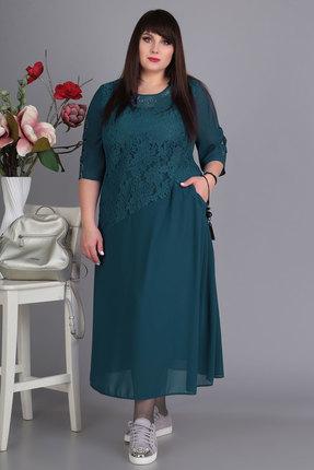 Платье Algranda 3350-8 изумруд