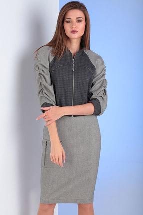 Комплект юбочный Viola Style 2649 серый