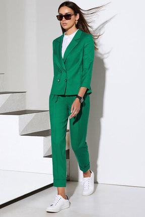 Комплект брючный Lissana 4056 зеленый