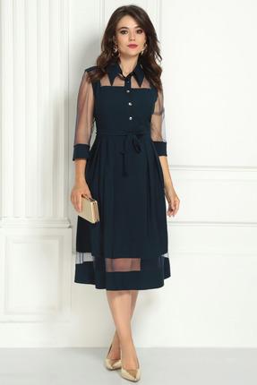 Платье Solomeya Lux 727 темно-синий