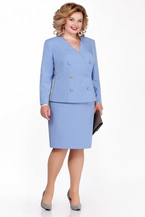 Комплект юбочный Pretty 1103 светло синий
