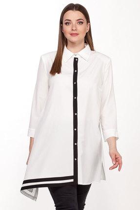 женская рубашка belinga, молочная