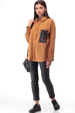 Блузка ТАиЕР 883 карамельный