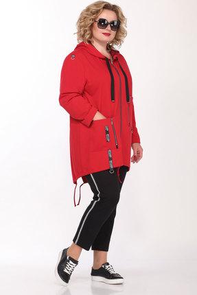 Спортивный костюм Lady Secret 2642 красный с черным