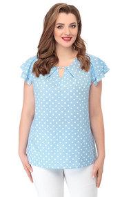 Блузка БелЭкспози 1344 голубой