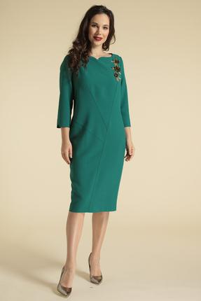 Платье Магия Моды 1675 зеленые тона