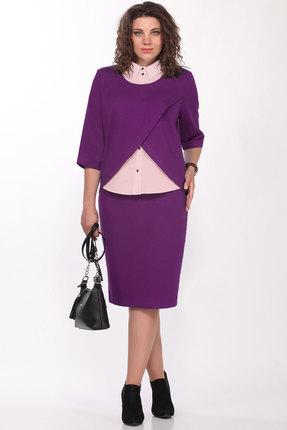 Комплект юбочный Lady Secret 1610 баклажановый