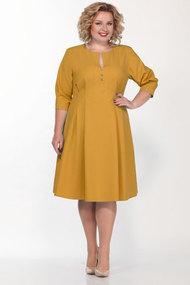 Платье Lady Secret 3660 горчичный