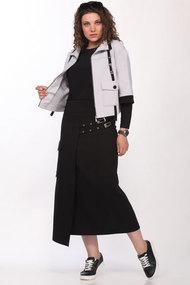 Комплект юбочный Lady Secret 1603 серый с черным