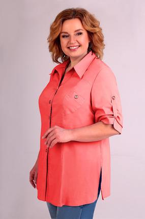 Рубашка Таир-Гранд 6254 коралловый