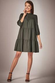 Платье Andrea Fashion AF-34 хаки