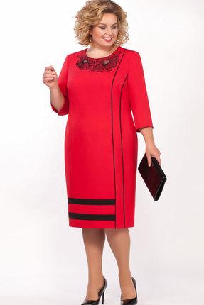 Платье Теллура-Л 1509 красный