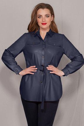 Рубашка Ivelta plus 895 синий