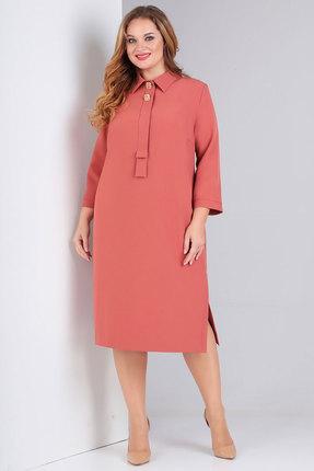 женское повседневные платье милора-стиль, персиковое