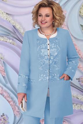 женский жакет ninele, голубой