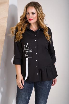 Рубашка Лилиана 853 черный