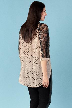 Рубашка Emilia 4536 бежевый