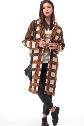 Пальто ТАиЕР 888 коричневый