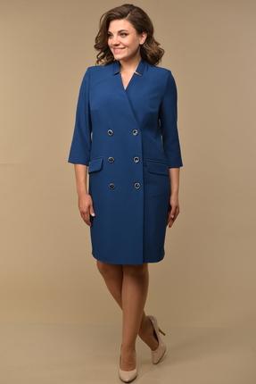 Платье Диамант 1555 синий