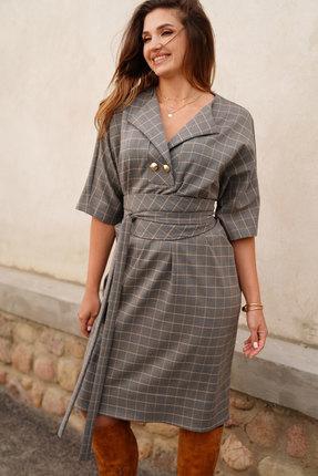 Платье ЛЮШе 2416 серый
