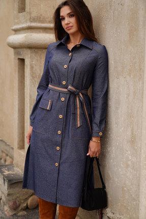 Платье ЛЮШе 2420 джинсовый
