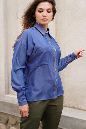 Рубашка ЛЮШе 2421 джинсовый