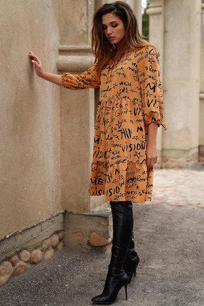 Платье ЛЮШе 2426 кэмел