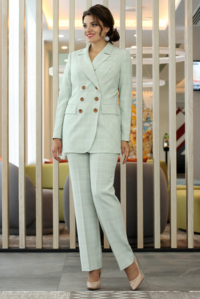 Комплект брючный Мода-Юрс 2475 серый