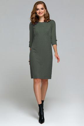 Платье Gizart 7339 бледно зеленый
