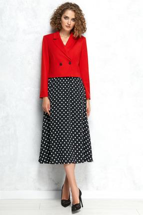 Комплект юбочный Gizart 5079 красный