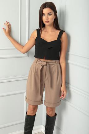женские шорты sandyna, серые