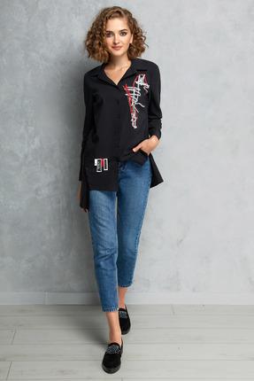 Блузка Gizart 5075 черный
