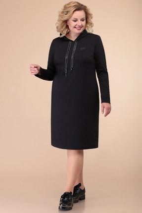 Спортивное платье Линия-Л Б-1825 черный