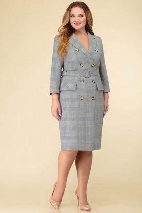 Платье Дали 3487 серые тона