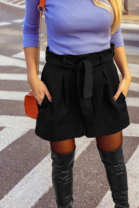 женские шорты mirolia, черные