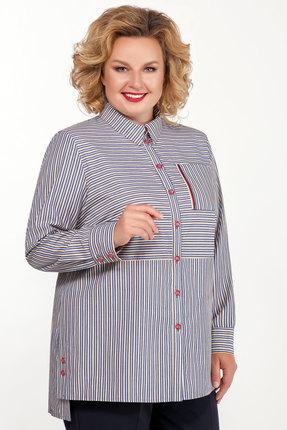 женская рубашка emilia, разноцветная