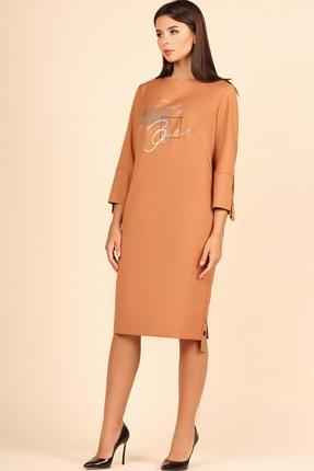 женское повседневные платье faufilure, песочное