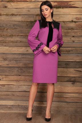 женское вечерние платье angelina & co, фуксия
