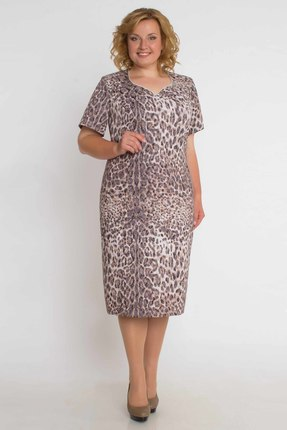 Комплект плательный Aira Style 433 леопард от PRESLI