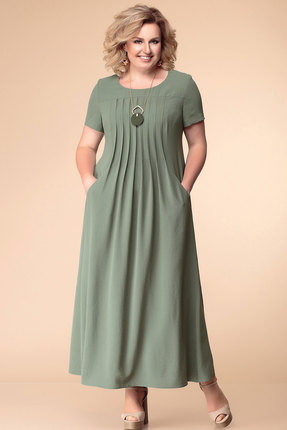 Платье Romanovich style 1-1826н хаки