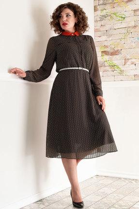 Платье Erika Style 1061 хаки