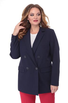 женский жакет белэльстиль, синий