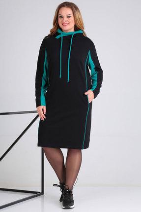 Спортивное платье Viola Style 0935 черный
