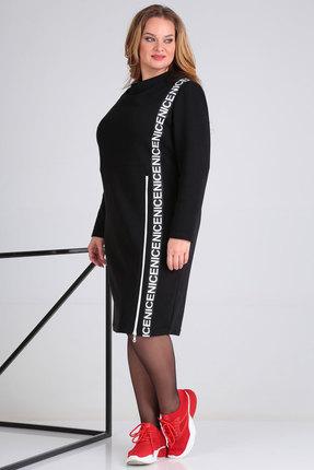 Спортивное платье Viola Style 0936  черный