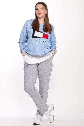 женский спортивный костюм belinga, голубой