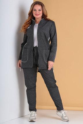 женский спортивный костюм тэнси, серый